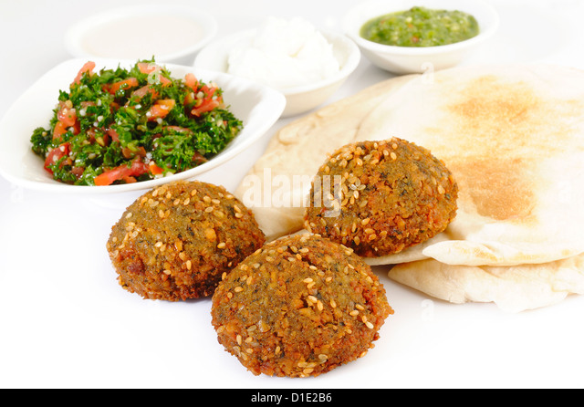 Lebanon Falafel - Stock Image