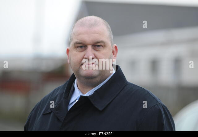 Welsh AM Carl Sargeant Minister for Natural Resources. - Stock Image