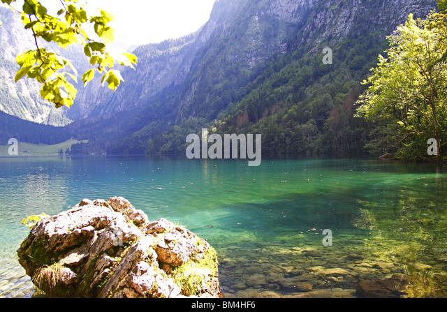 Alps, MOUNTAINS, Berchtesgaden, Königssee - Stock-Bilder