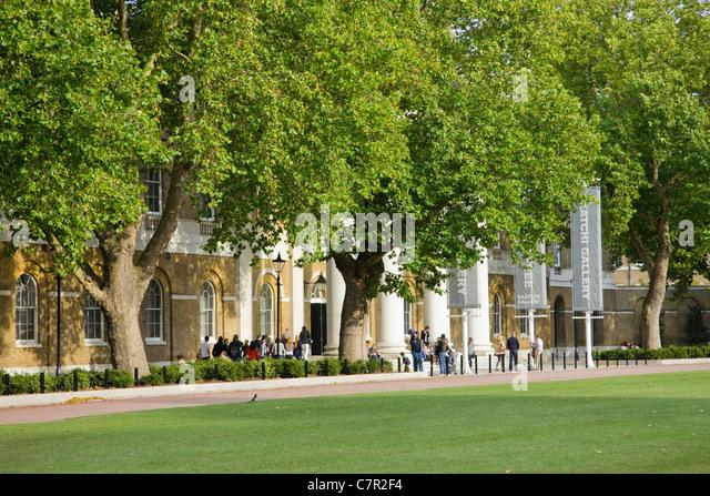 The Saatchi Gallery Chelsea London UK - Stock Image