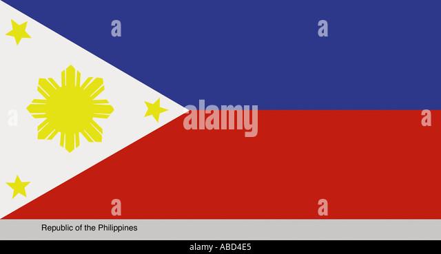 Republic of the Philippines - Stock-Bilder