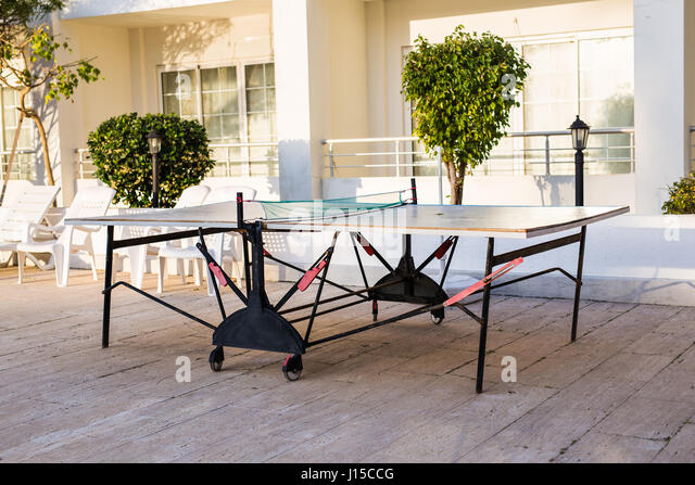 Table tennis or ping pong - Stock Image