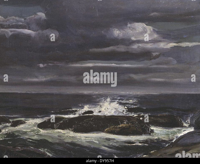 George Wesley Bellows The Sea - Stock Image