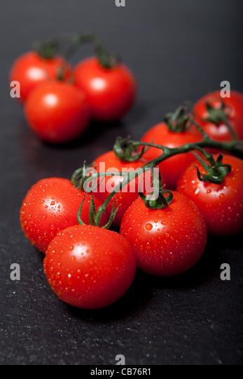 Cherry tomatoes - Stock Image