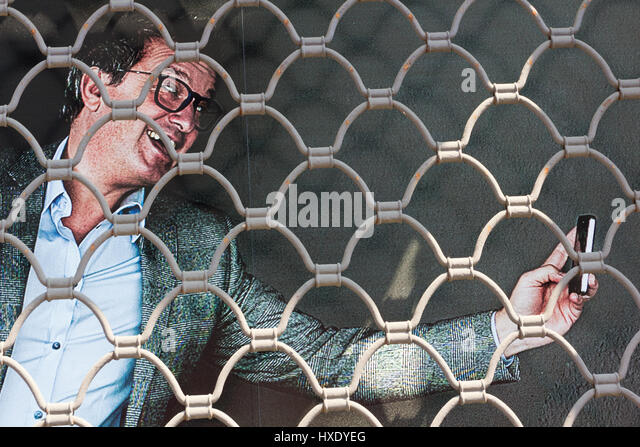 Another selfie and you'll be imprisoned - Stock Image