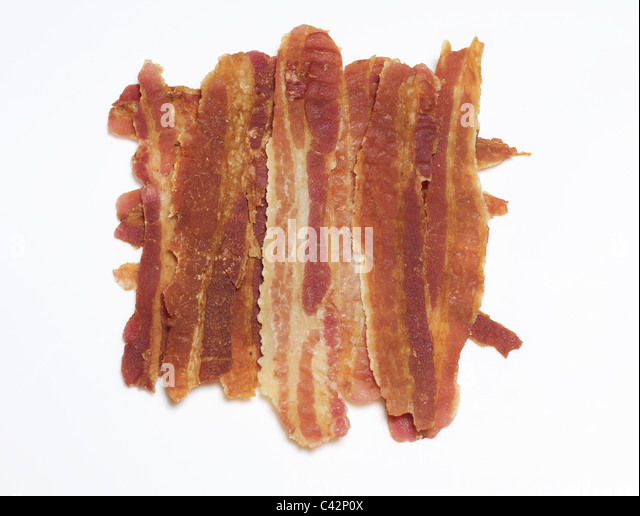Bacon rashers - Stock Image