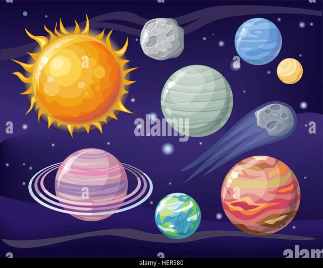 Astronomical stock vector images alamy for Outer space design australia