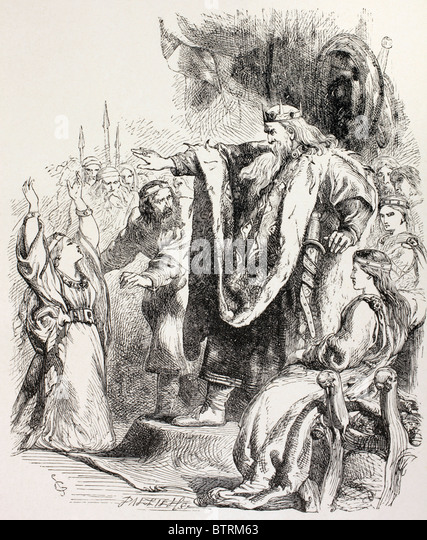 """the acceptance of evil in king lear by william shakespeare Not so hamlet or king lear shakespeare's  """"the forces of evil  indeed identical with those appearing in the great tragedies"""" (william shakespeare:."""