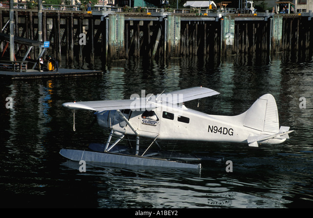 Alaska float plane Juneau - Stock Image