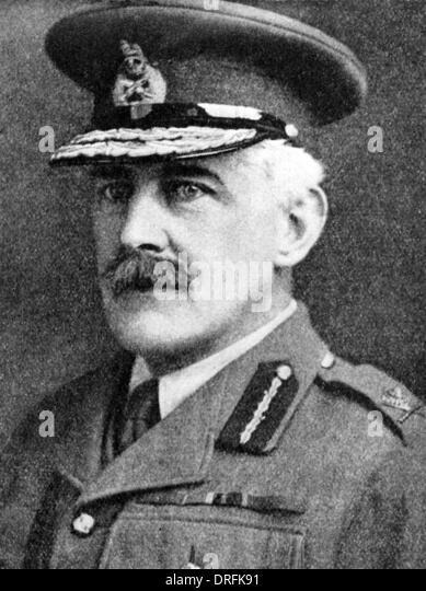 Sir George Harper, British Army officer, WW1 - Stock Image