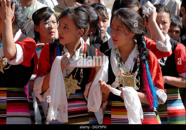 Girls Tibet Stock Photos Amp Girls Tibet Stock Images Alamy