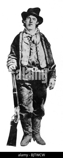 Billy the Kid, American gunman and outlaw, c1877-1881 (1954). - Stock Image