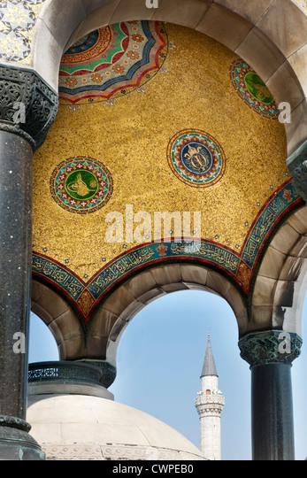 Türkei, Istanbul, Sultanahmet, Hippodrom, Kaiser-Wilhelm-Brunnen - Stock Image