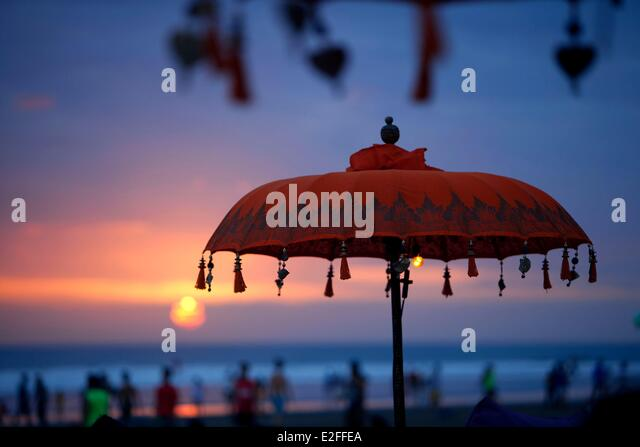 Indonesia, Bali, Seminyak Beach - Stock Image