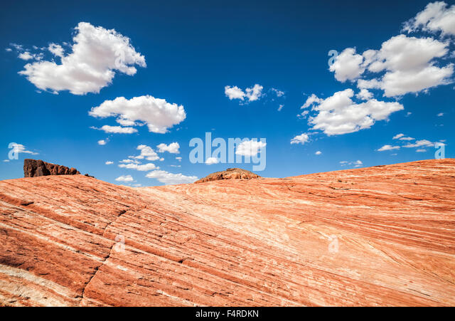 Beautiful landscape, Valley of Fire, USA. - Stock Image