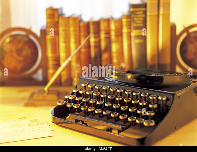Antique typewriter - Stock-Bilder