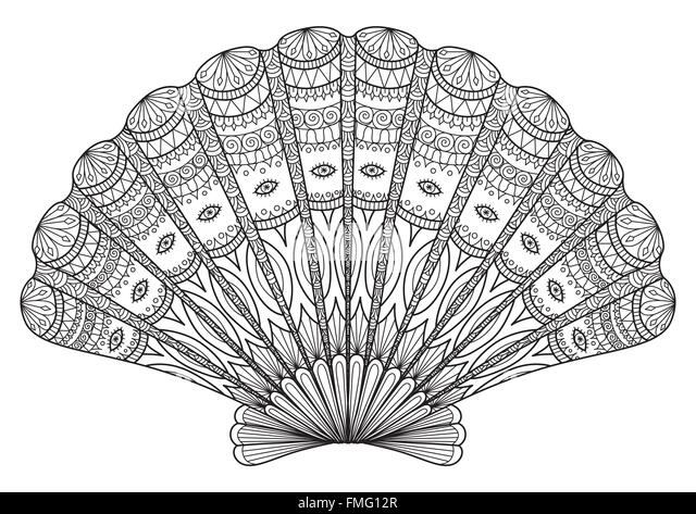 Coloring Book Pages Adult Stock Photos Amp Coloring Book