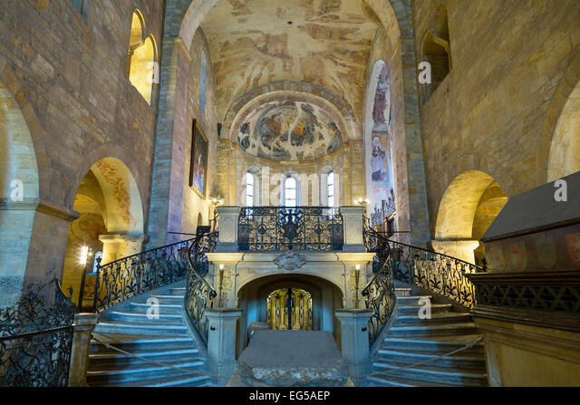 Prague, St George's Basilica - Stock Image