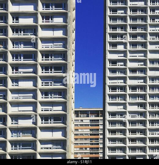Buildings in Paris - Stock Image