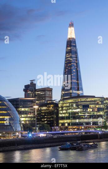 The Shard, Skyscraper, London, United Kingdom, - Stock Image