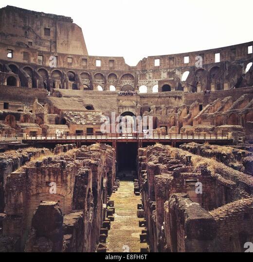 Rome, Colosseum - Stock Image