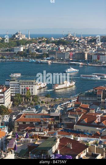 Golden horn istanbul - Stock Image
