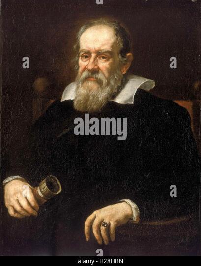 Galileo Galilei, Italian astronomer - Stock Image