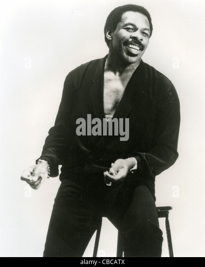 LLOYD PRICE  American R&B singer about 1975 - Stock Image