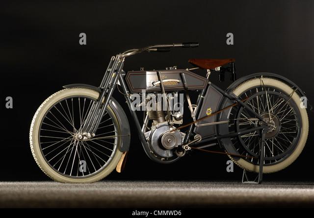 1912 Harley Davidson Model X8A - Stock Image