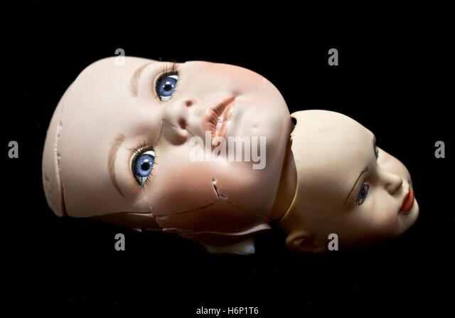 how to fix broken doll head