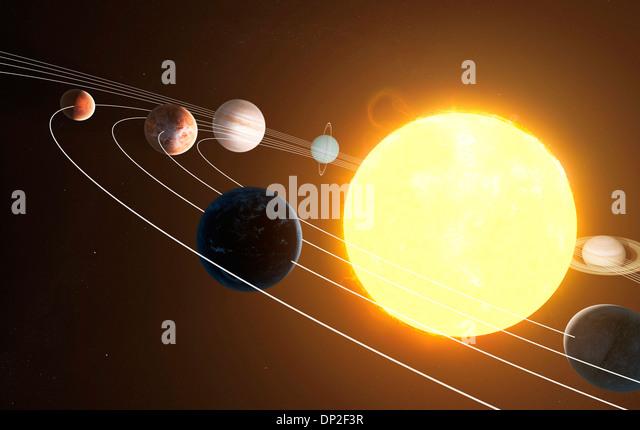 Earth Solar System Orbits Stock Photos & Earth Solar ...