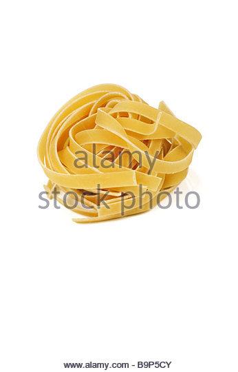 Tagliatelle pasta. - Stock Image