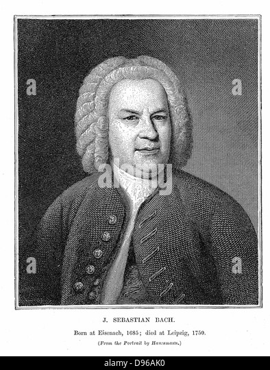 Johann Sebastian Bach (1685-1750) Biographical Essay