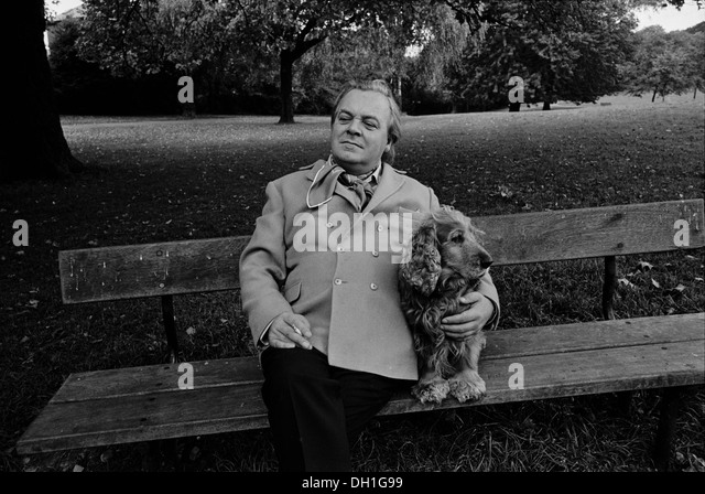 British actor Patrick Wymark photographed in Hampstead, London in September 1969. He died a year later. - Stock Image