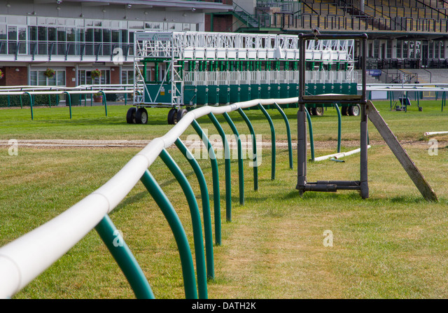Warwick Race Course - Stock Image