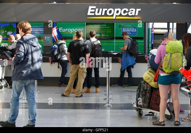 Europcar Rental Car Return Zurich Airport