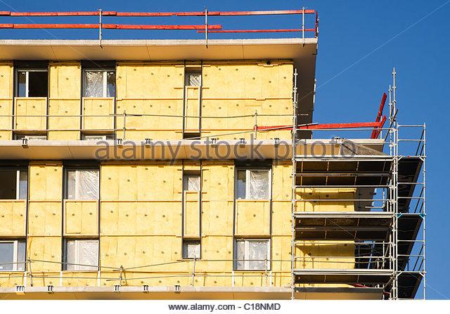 Exterior wall insulation stock photos exterior wall for Exterior insulation