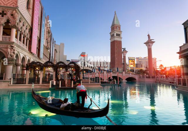 Las Vegas, The Venetian Hotel - Stock Image