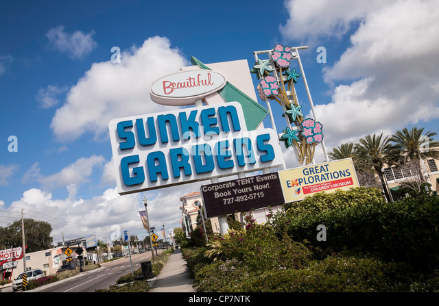 Sunken Gardens Petersburg Stock Photos Sunken Gardens Petersburg Stock Images Alamy