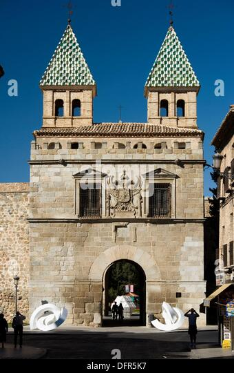 Puerta De La Bisagra Stock Photos Puerta De La Bisagra