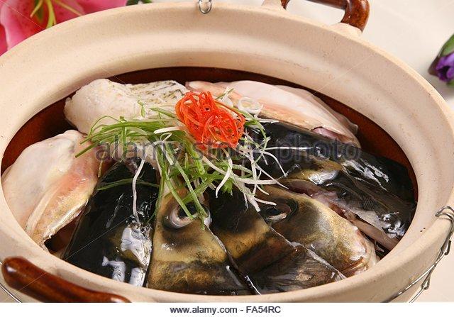 Stewed fish head stock photos stewed fish head stock for Salt fish head