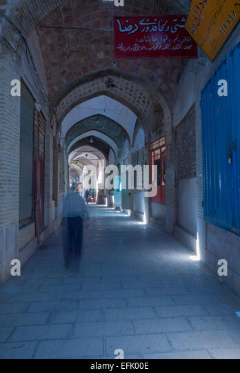 Bazaar, Kerman, Iran - Stock Image