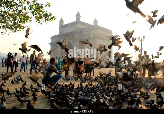 Gateway of India, Mumbai, India - Stock Image
