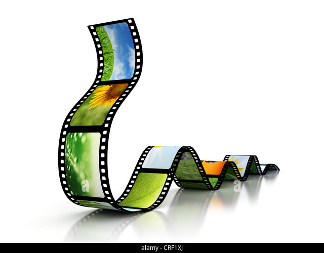 Film with images - Stock-Bilder