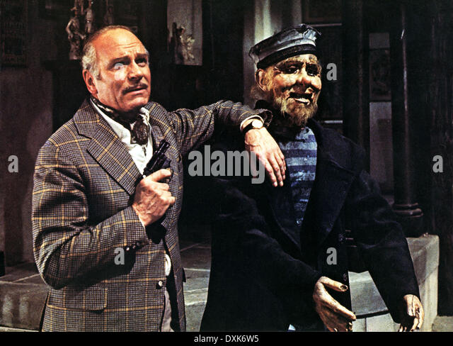 SLEUTH (BR1972) LAURENCE OLIVIER - Stock Image