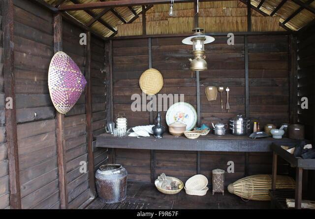 Traditional kitchen utensils stock photos traditional for Traditional kitchen equipments