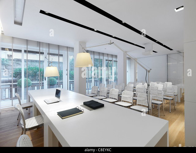 Interior of a office space - Stock Image