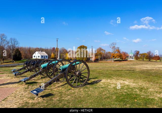 Antietam National Battlefield, Sharpsburg, Maryland, USA - Stock Image