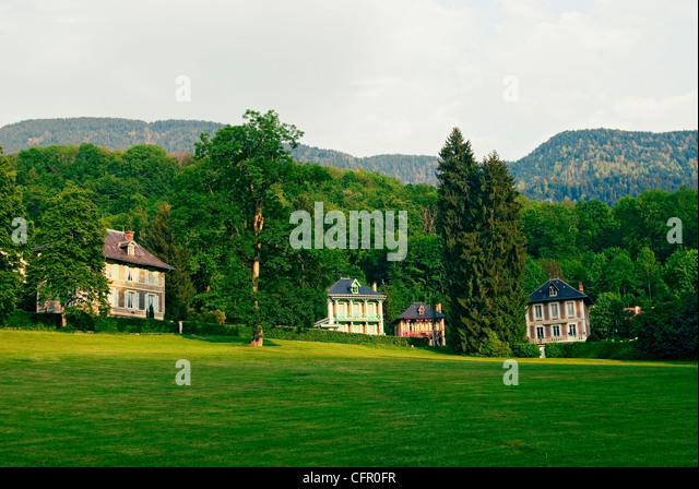 Villas near Grenoble. - Stock-Bilder
