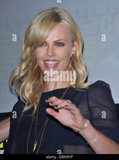 Charlize Theron  Comic-Con 2011 - Celebrities at the Convention Centre     San Diego, California - 23.07.11 - Stock Image